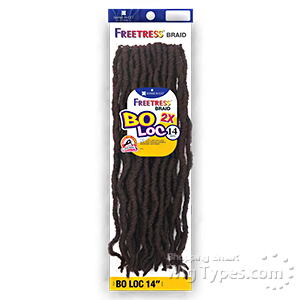 Freetress Synthetic Braid - 2X BO LOC 14