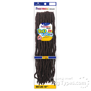 Freetress Synthetic Braid - 2X BO LOC 18