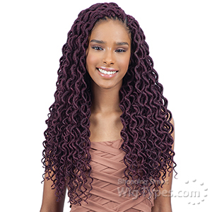 Freetress Synthetic Braid - 2X SOFT CURLY FAUX LOC 18