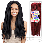 Freetress Synthetic Braid - 2X LARGE SOFT FAUX LOC 20 (24PCS)