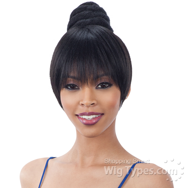 Freetress Equal Synthetic Bun Swirl Bun Bang Dome