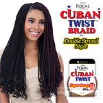 Freetress Equal Synthetic Braid - Cuban Twist Braid 24