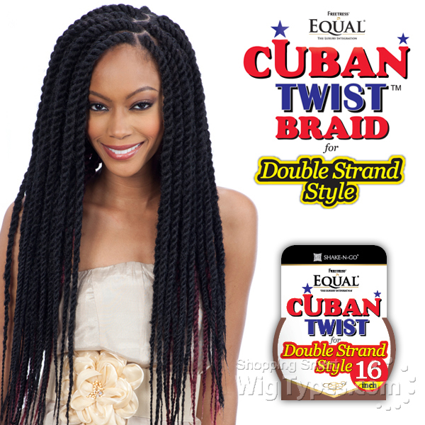 Freetress Equal Synthetic Braid Cuban Twist 16