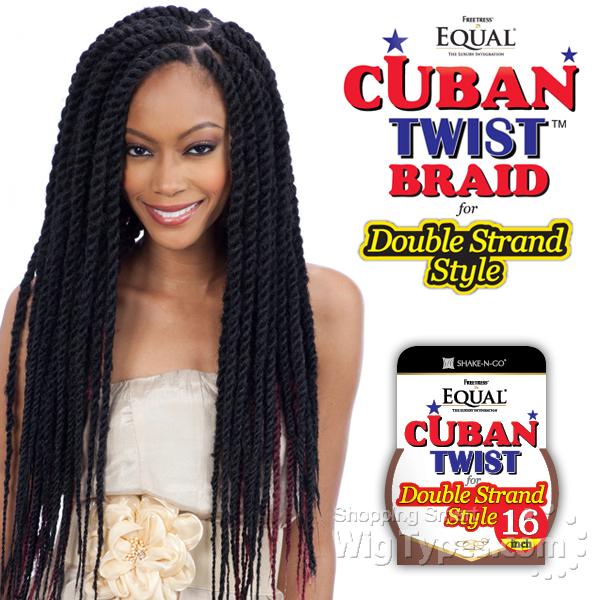 Cuban Twist Crochet Hair Styles : Afro Twist Braid Synthetic Braid Freetress - WigTypes.com