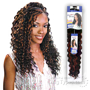 Freetress Synthetic Braid - DEEP TWIST BULK 22