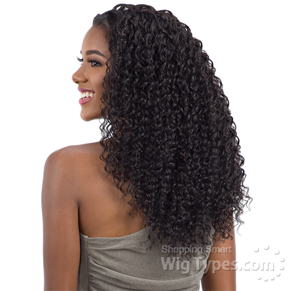 Oval Part Crochet Wig Deep Twist