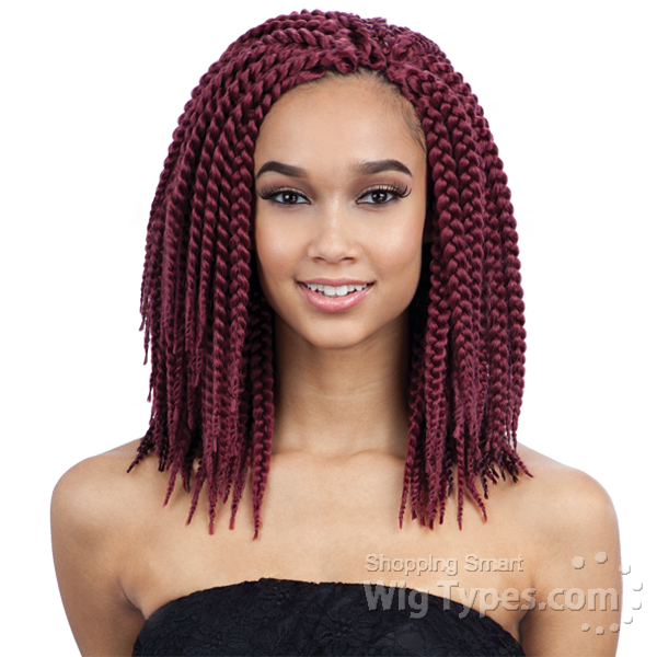 Crochet Box Braids Pre Braided : ... Synthetic Braid - 3x Pre-loop Crochet Yaky Braid 16 - WigTypes.com