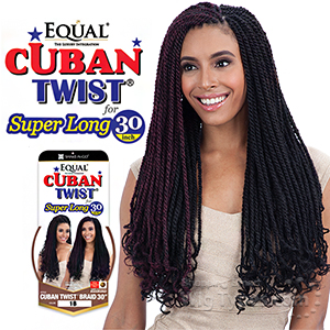 Freetress Equal Synthetic Braid - Cuban Twist Braid 30