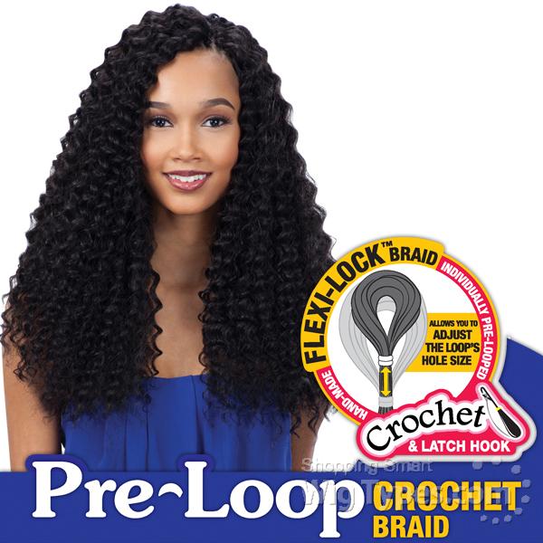 Freetress Synthetic Braid 3x Pre Loop Crochet Deep Twist Braid 16
