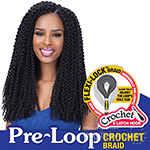 Freetress Synthetic Braid - 3X PRE-LOOP CROCHET ISLAND TWIST BRAID 16