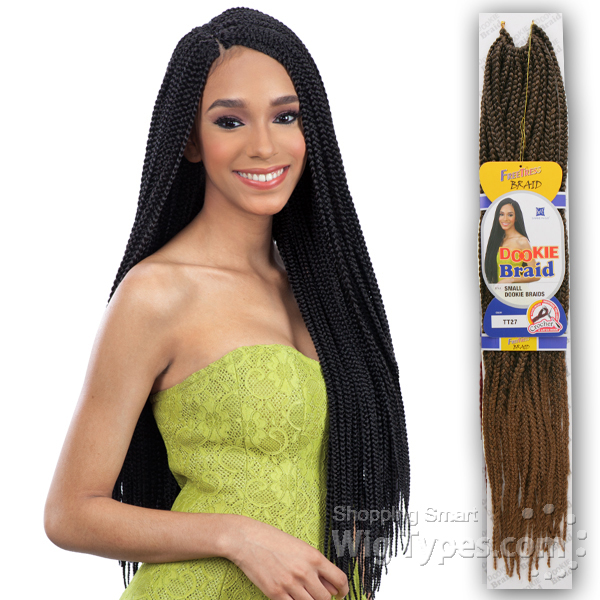 Freetress Synthetic Braid - SMALL DOOKIE BRAIDS - WigTypes.com