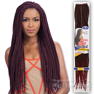 Freetress Synthetic Braid - LONG MEDIUM BOX BRAID