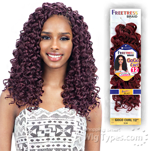 Freetress Synthetic Braid - GOGO CURL 12