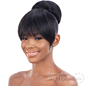 Freetress Equal Synthetic Bun and China Bang - COCO BUN BANG (2pcs)