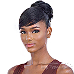 Freetress Equal Synthetic Bun and Swoop Side Bang - FANCY BUN BANG (2pcs)