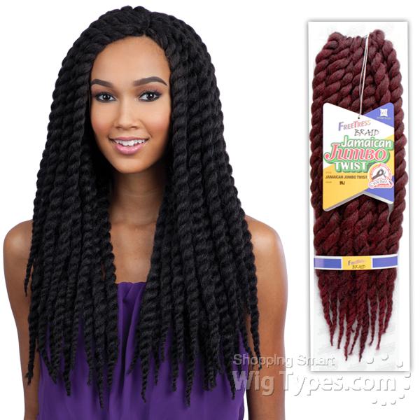 Strange Mambo Twist Braid Wigtypes Com Hairstyles For Women Draintrainus