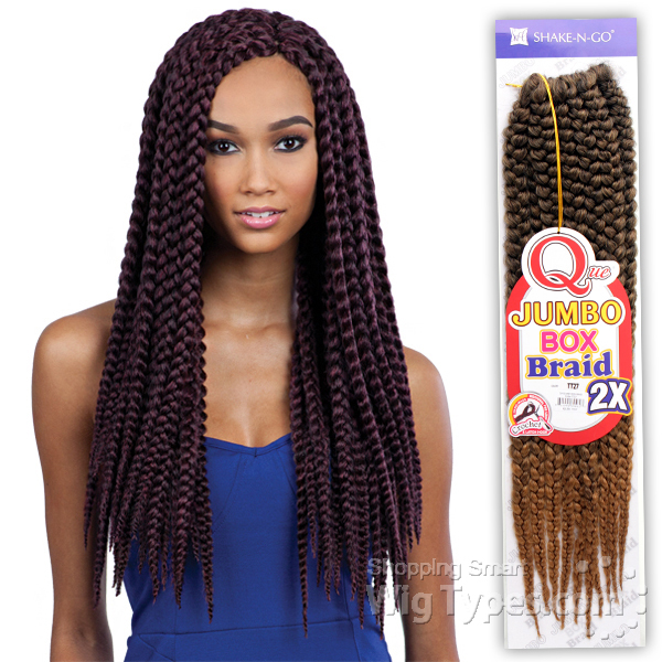 Freetress Large Crochet Box Braids : Crochet Braid Synthetic Braid Freetress Sensationnel Snap ...