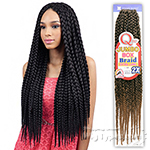 Freetress Synthetic Braid - QUE JUMBO BOX BRAID EXTRA LONG 2X