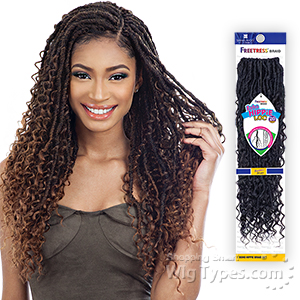 Freetress Synthetic Braid - BOHO HIPPIE LOC 20
