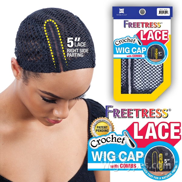 Freetress Lace Crochet Wig Cap Wigtypes Com