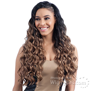 Freetress Synthetic Braid - LONG FINGER ROLL BRAID 22