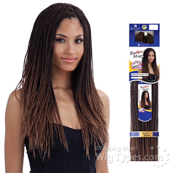 Freetress Synthetic Braid Micro Senegalese Twist