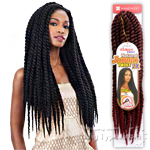Freetress Equal Synthetic Braid - CUBAN TWIST NATURAL JUMBO TWIST 2X