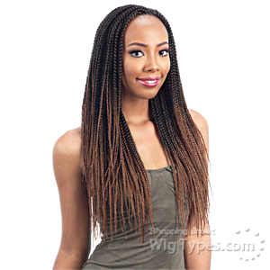 Freetress Synthetic Braid - PRE FEATHERED BOX BRAID 20