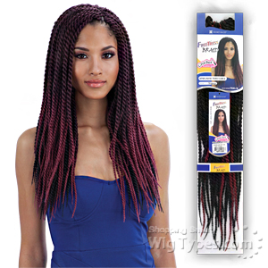Freetress Synthetic Braid - SENEGALESE TWIST LARGE