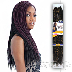 Freetress Synthetic Braid - SINGLE TWIST SMALL
