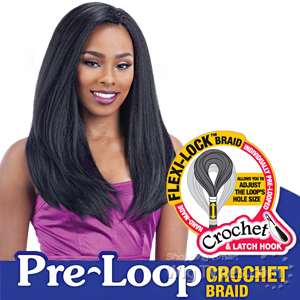 Freetress Synthetic Braid - 3X PRE-LOOP CROCHET YAKY BOUNCE 16