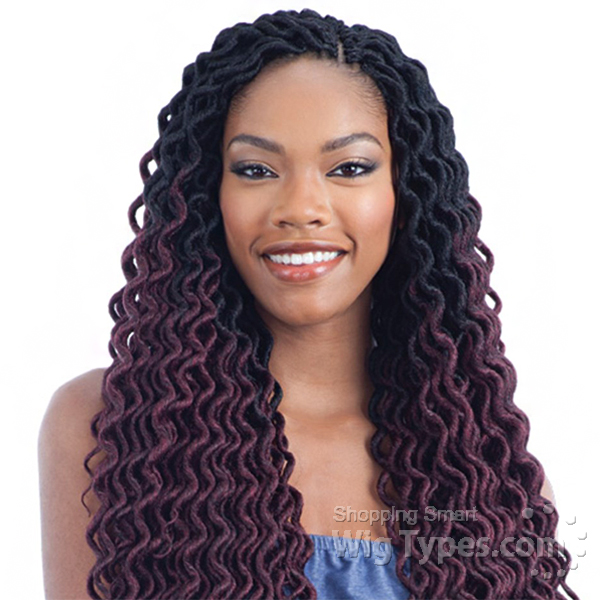 Model Model Glance Synthetic Braid Soft Dread Twist Lock