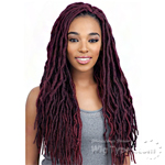 Model Model Glance Synthetic Braid - 2X SOFT WAVY FAUX LOC 18