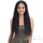 Model Model Synthetic Braid Lace Wig - BOX BRAIDS