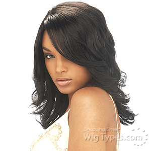 Glance Synthetic Band Full Cap Wig - CARMEN