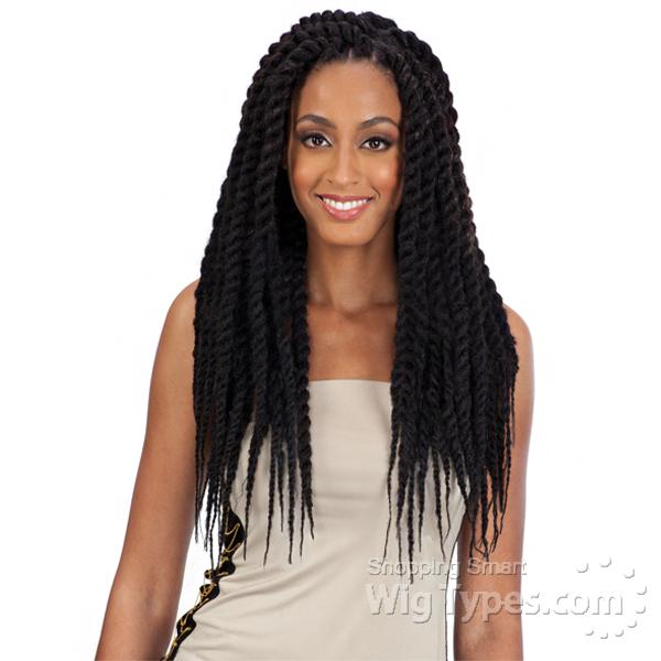 Model Model Mojito Twist Braid 12 16 Lace Front Wigs ... - photo #20