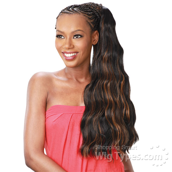 Model Glance Synthetic Braid Soft Loose Wave 24