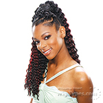 Model Model Glance Synthetic Braid - SOFT DEEP CURL