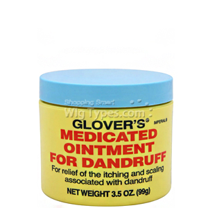 Glover's Medicated Ointment For Dandruff 3.5oz