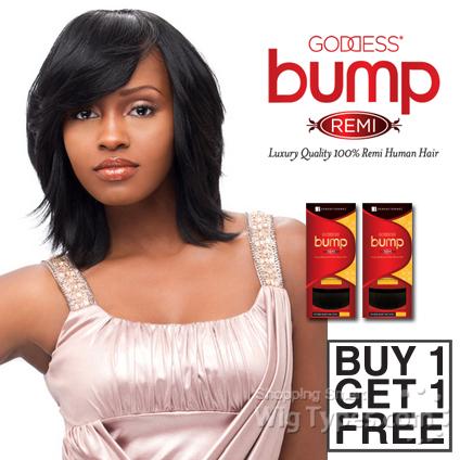 Sensationnel 100% Remy Human Hair Weave Goddess Bump Yaki 8 (Buy 1 Get