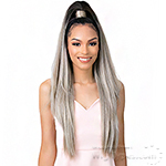 Goldntree Synthetic Half Wig and Pony Wrap - HIGH & LOW 1