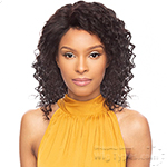 Awesome Ebony Virgin Human Hair 360 Lace Frontal Wig - DEEP WAVE 14