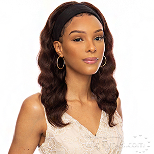 Awesome 100% Brazilian Virgin Remy Hair Headband Wig - HH BAND 03