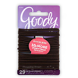 Goody #01003 Ouchless Braided Elastics 29pcs