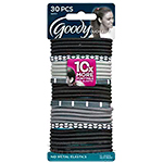 Goody #06951 Ouchless No-Metal Hair Elastics 30pcs