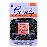 "Goody #30785 Active Elastics 4mm, 2.75"" 10pcs"