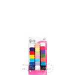 Goody #32819 Small Multi Color Ponytailer 42pcs
