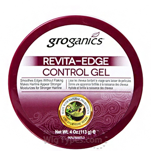 Groganics Revita Edge Control Gel 4oz