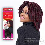 Harlem 125 Synthetic Hair Braid - KIMAKALON SMALL 20 (20pcs)
