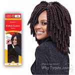 Harlem 125 Synthetic Hair Braid - KIMAKALON MEDIUM 20 (20pcs)
